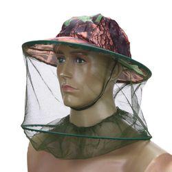 Pălărie de pescuit în aer liber camuflată