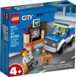 LEGO City  Echipa de poliție cu un câine, art. 60241