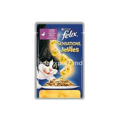 Felix Sensation с уткой и шпинатом, в желе