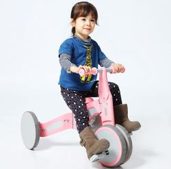 Детский велосипед Xiaomi Mijia 700Kids Tricycle 2in1 Green