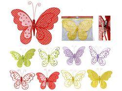 Бабочка на прищепке 25Х19cm