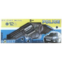 Револьвер полицейский (12 зарядный), код 44074