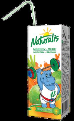 Naturalis Nectar mere-morcov 0,2 L