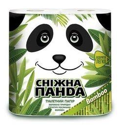 Туалетная бумага PANDA Bamboo 2 слоя 22.36м*4