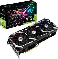 VGA ASUS RTX3060 12GB GDDR6 ROG Strix Gaming OC V2 - LHR