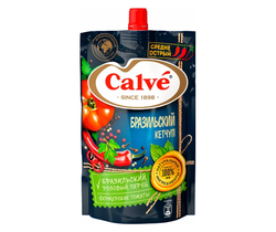 Кетчуп Острый Calve Бразильский, 350 г