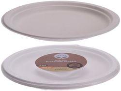 Набор тарелок одноразовые ECO 8шт, D22cm