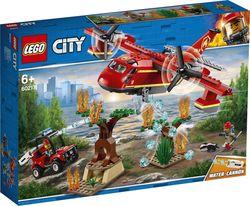 """LEGO City  """"Avionul de incendiu"""", art. 60217"""