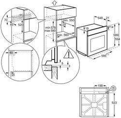 Cuptor electric Electrolux KODD71X