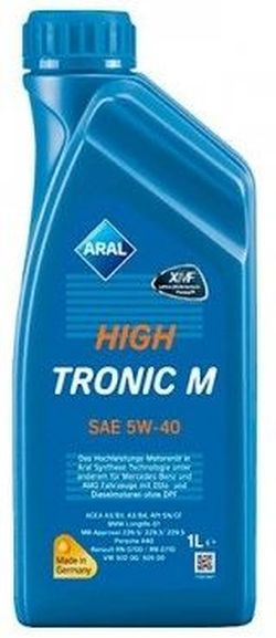 Моторное масло Aral HighTronic M 5W-40 1L