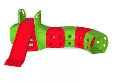 Туннельная горка (красный и зеленый) 39164