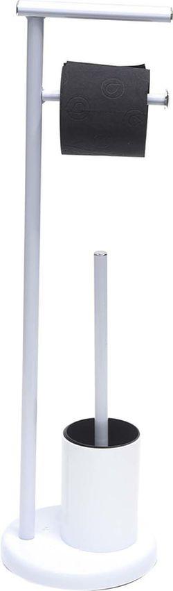 Подставка для щeтки и держатель для бумаги WC Tendence