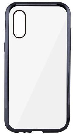 купить Чехол для смартфона KSIX Flex Laser Case - IPH XS Max, Metallic Grey в Кишинёве