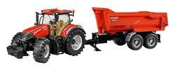 Трактор Case Optum 300CVX с прицепом Krampe Tandem, код 42294