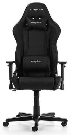 купить Gaming кресло DXRacer Racing GC-R0-N-Z1, Black/Black/Black в Кишинёве