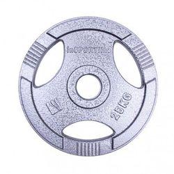 Диск метал. 25 кг d=50 мм 12707 (2738) inSPORTline (под заказ)