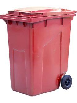 360L, Kонтейнеры для мусора, красный