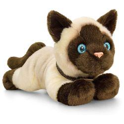Сиамский котик 30 см, код 42793