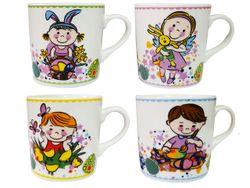 Cana 220ml, cu desen pentru copii, din ceramica