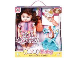 Кукла со звуком и аксессуарами (роз цветы), 32.5X28X5X11сm