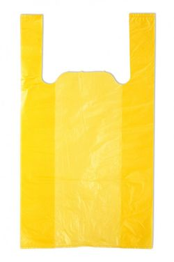 Пакет тип майка жёлтая 27*46см