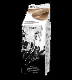 Краска для волос, ESTEL Celebrity, 125 мл., 10/0 - Платиновый блондин