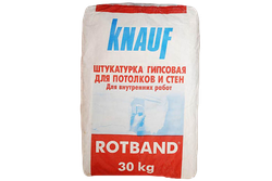 Штукатурка гипсовая Knauf Rotband 30 kг