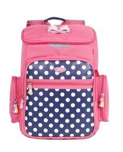 "Ghiozdan pentru școală ""Polka Dot"" Daco I roz"