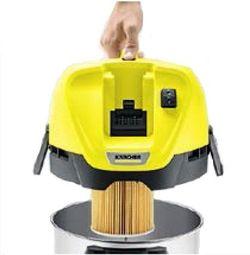 Промышленный пылесос Karcher WD 3 Battery Premium Inox