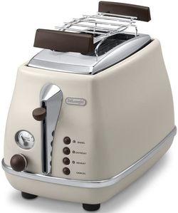 cumpără Toaster DeLonghi CTOV2103.BG Icona Vintage în Chișinău
