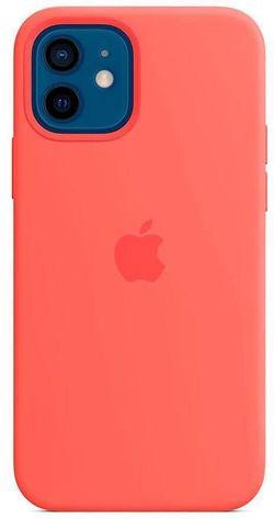 cumpără Husă pentru smartphone Apple iPhone 12 | 12 Pro Silicone Case with MagSafe Pink (MHL03) în Chișinău