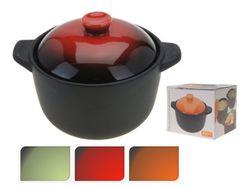 Cratita cu capac pentru cuptor D11cm, din ceramica
