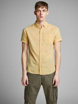 Рубашка JACK&JONES Желтый 12152555