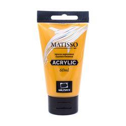 Акриловая краска Малевичъ Matisso, охра желтая, 60 мл