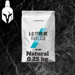 L-Glutamine Amino Acid 100% - Gust Natural - 0.25 KG