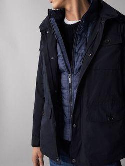 Куртка Massimo Dutti Темно синий massimo dutti 3465/084
