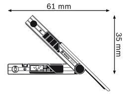 Угломер Bosch GAM 220 MF (B0601076600)