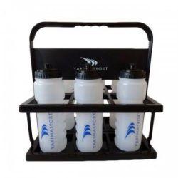 Бутылка для воды 700 мл (6 шт.) + держатель Yakimasport 100017