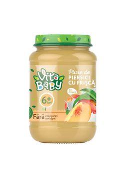 VITA Baby пюре персик со сливками