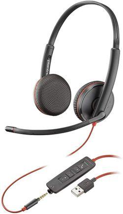 cumpără Cască cu microfon Plantronics BLACKWIRE C3225 USB-A (PLC00225) în Chișinău