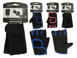 Перчатки для занятий в тренажерном зале XQMAX S-M-L-XL