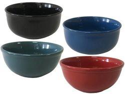 Salatiera D15cm, monocrom, din ceramica