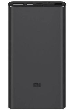купить Аккумулятор внешний USB Xiaomi 10000mAh Mi Power Bank Quick Charge QC3.0 18W, Black в Кишинёве