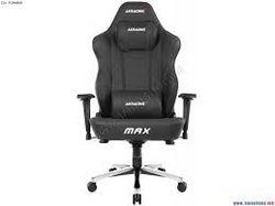 Игровое кресло AKRacing Master Max AK-MAX-BK, черное,