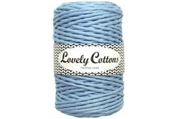 Twisted cord 3 mm, Baby Blue