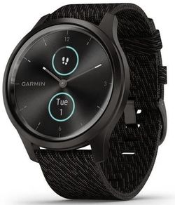 купить Фитнес-трекер Garmin vivomove Style, S/E EU, Graphite, Black Pepper, Nylon в Кишинёве