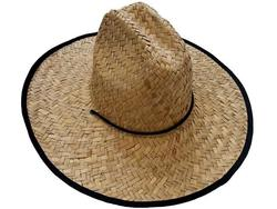 Шляпа соломенная D43cm