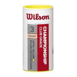 Fluturasi badminton (3 buc.) Wilson Championship WRT6040YE77 (5250)