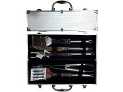 Инструменты для барбекю 5ед, в чемодане 38X14X8cm