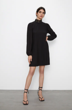 Платье ZARA Чёрный 4215/401/800